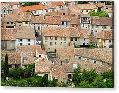France, Languedoc-roussillon, Ancient Acrylic Print