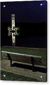 Furman University Bell Tower  Greenville Sc Acrylic Print