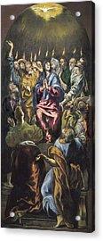 Greco, Dom�nikos Theotok�poulos, Called Acrylic Print by Everett