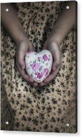 Heart Acrylic Print by Joana Kruse