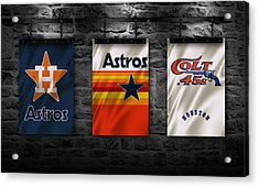 Houston Astros Acrylic Print