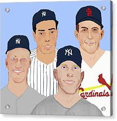 9-inning Legends Acrylic Print by Pharris Art