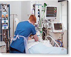 Intensive Care Unit Acrylic Print by Life In View