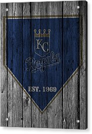 Kansas City Royals Acrylic Print by Joe Hamilton
