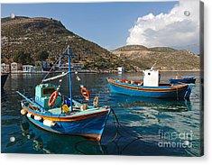 Kastelorizo Island Acrylic Print