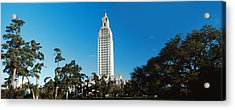 Low Angle View Of A Government Acrylic Print by Panoramic Images