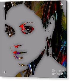 Mila Kunis Collection Acrylic Print by Marvin Blaine