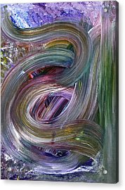 Acrylic Print featuring the painting Nameless by Tracey Myers