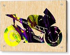 Ninja Motorcycle Acrylic Print