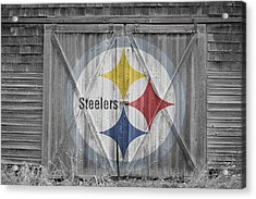 Pittsburgh Steelers Acrylic Print by Joe Hamilton