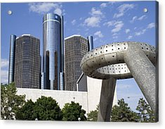 Renaissance Center Acrylic Print