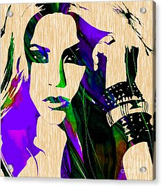 Shakira Collection Acrylic Print