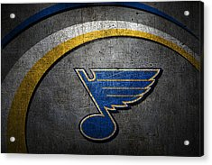 St Louis Blues Acrylic Print