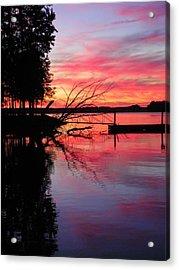 Sunset 9 Acrylic Print