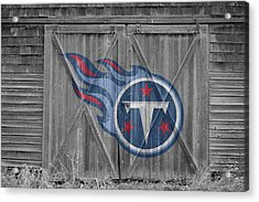Tennessee Titans Acrylic Print by Joe Hamilton