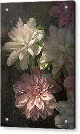 Tijuana Mexico Artificial Flower Arrangement Acrylic Print by John Hanou