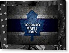 Toronto Maple Leafs Acrylic Print by Joe Hamilton