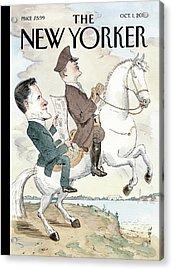 New Yorker October 1st, 2012 Acrylic Print