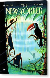 New Yorker August 6th, 2007 Acrylic Print by Eric Drooker