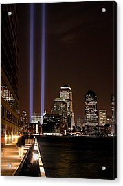 Acrylic Print featuring the photograph 911 Anniversary by Gary Slawsky