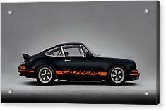 911 Carrera Rsr Acrylic Print by Douglas Pittman