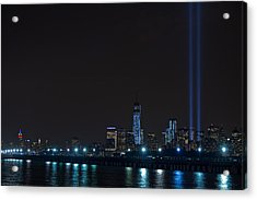 911 Tribute In Lights 2 Acrylic Print
