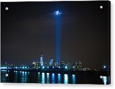 911 Tribute In Lights Acrylic Print by Douglas Adams