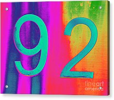 92 Acrylic Print