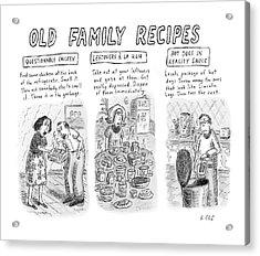 New Yorker June 25th, 2007 Acrylic Print