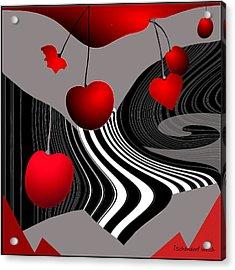 997 -   Deco Cherry     Acrylic Print