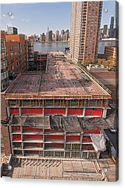 9th Floor Forms Acrylic Print