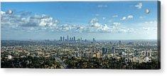 A 10 Day In Los Angeles Acrylic Print by David Zanzinger