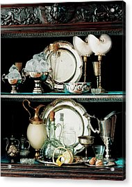 A 16th Century Buffet Acrylic Print by Pascal Chevallier