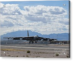 A B-52 Stratofortress Takes Acrylic Print by Stocktrek Images