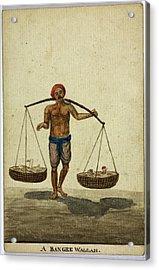 A Bangee Wallah Acrylic Print by British Library