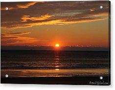 A Beach Life Sunrise Acrylic Print