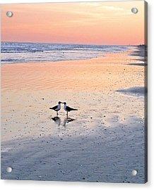 A Beach Romance Acrylic Print
