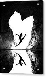 A Beating Heart Acrylic Print by E.amer