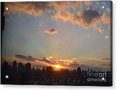 A Beautiful Evening Acrylic Print by Robert Daniels