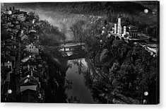 A Beautiful Morning In Veliko Tarnovo Acrylic Print