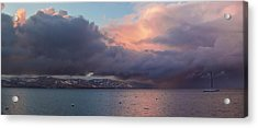 A Beautiful Storm Acrylic Print by Brad Scott