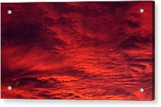 A Beautiful Sunrise Acrylic Print by Sascha Kolek