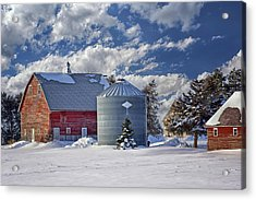 A Beautiful Winter Day Acrylic Print