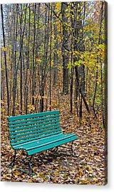 A Bench Nowhere... Acrylic Print