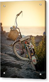 A Bike And Chi Acrylic Print