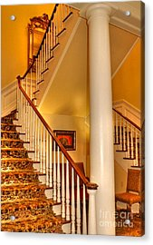 A Bit Of Southern Style Acrylic Print by Kathy Baccari
