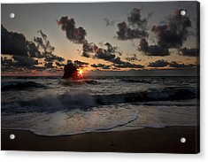 Acrylic Print featuring the photograph A Blaze  by Stewart Scott
