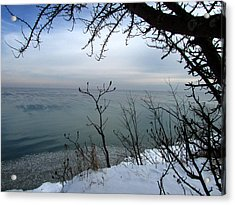 A Blue With A View Acrylic Print