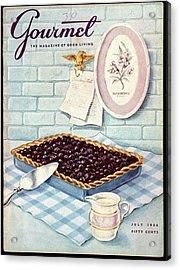 A Blueberry Tart Acrylic Print
