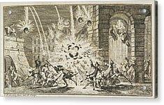 A Bombardment Acrylic Print